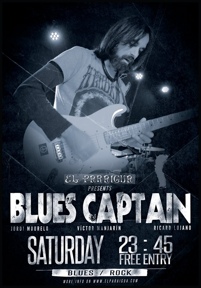 Blues Captain - El Paraigua - Guest Music