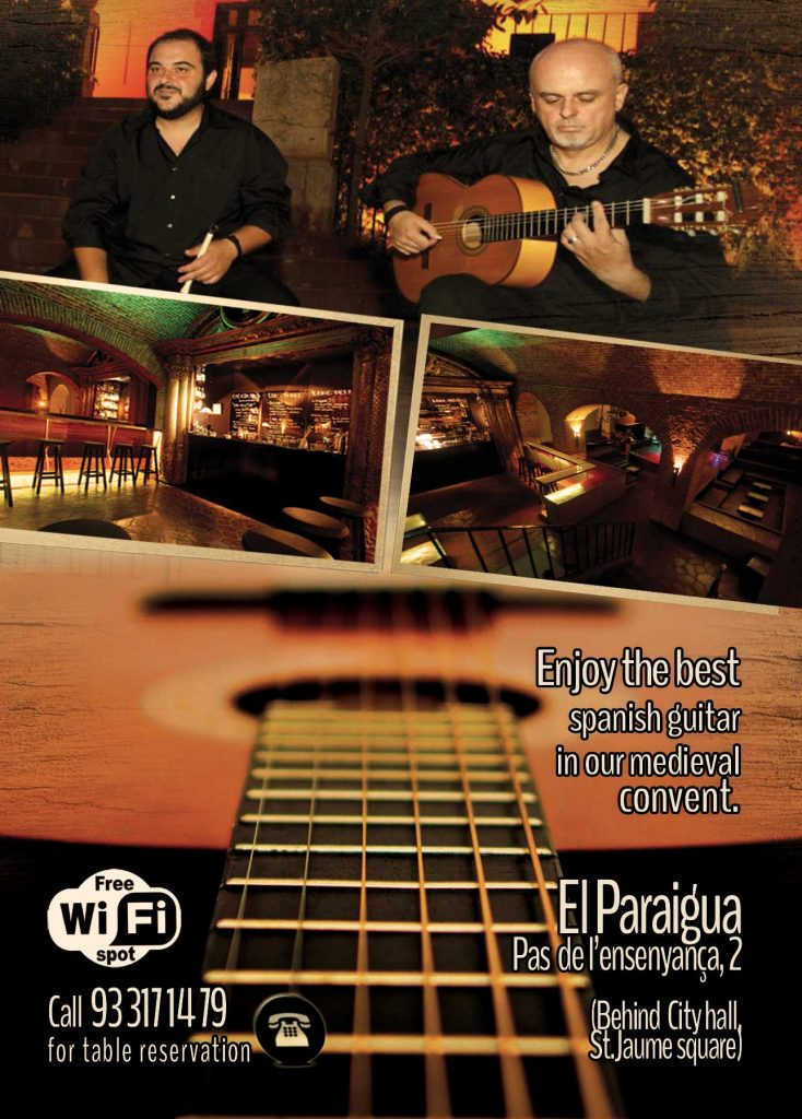 Flamenco Guitar - El Paraigua - Guest Music