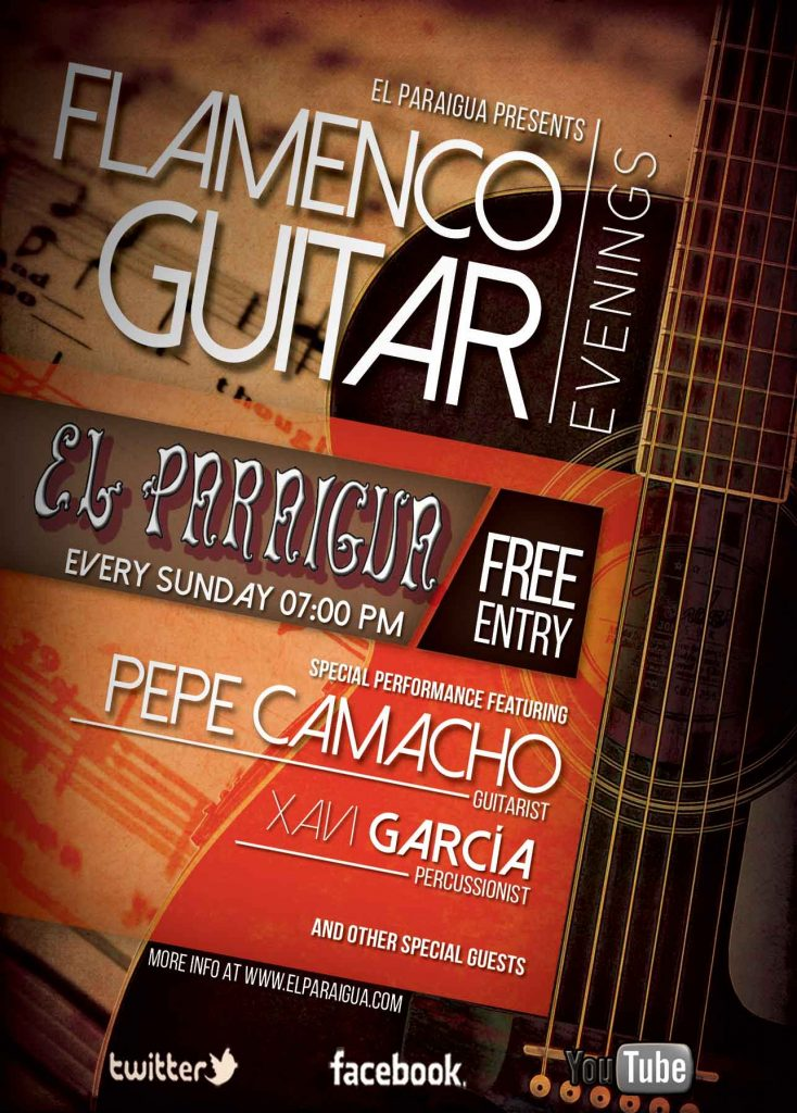Spanish Guitar Evenings - El Paraigua - Guest Music