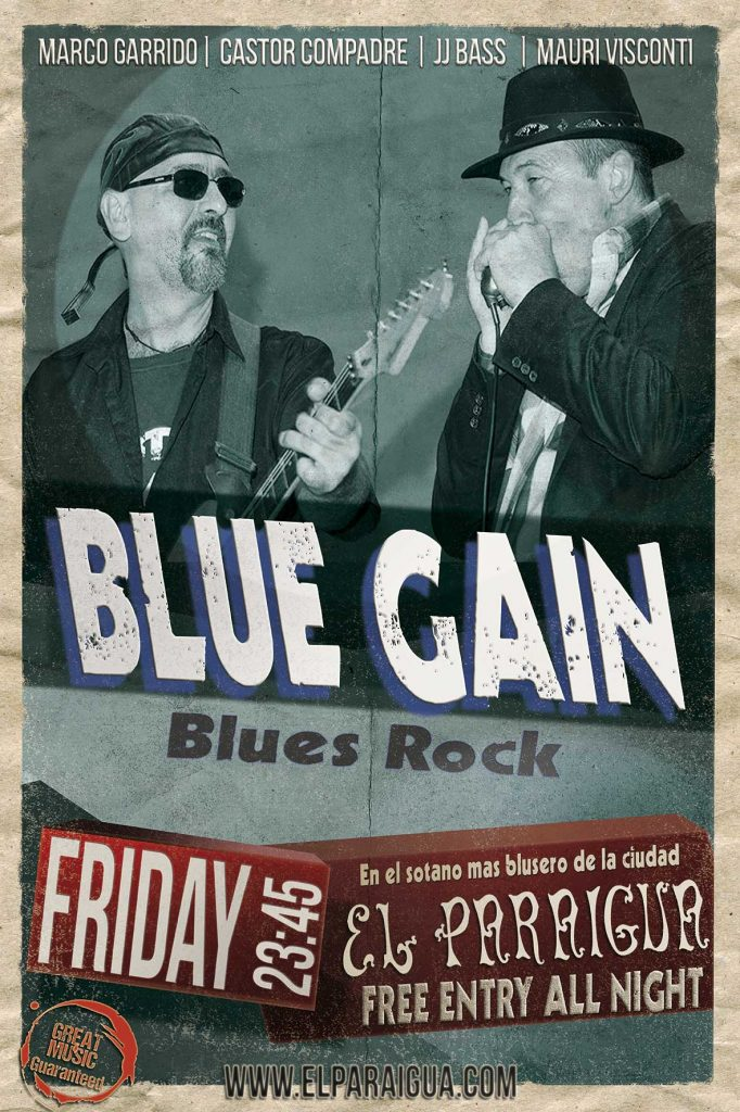 Blue Gain - El Paraigua - Guest Music