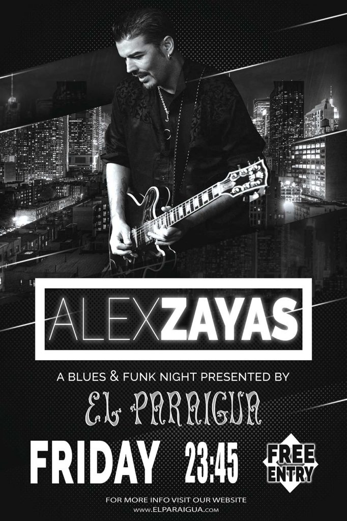 Alex Zayas - El Paraigua - Guest Music