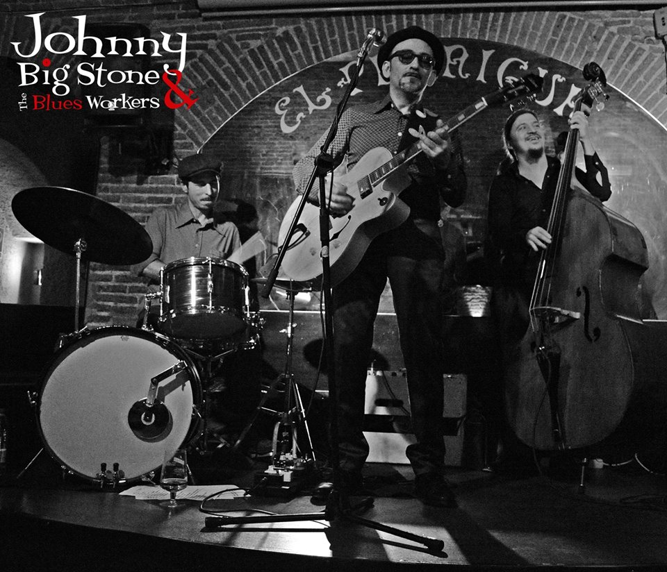 Johnny Big Stone & The Blues Workers - Guest Music - El Paraigua - Blues Jam