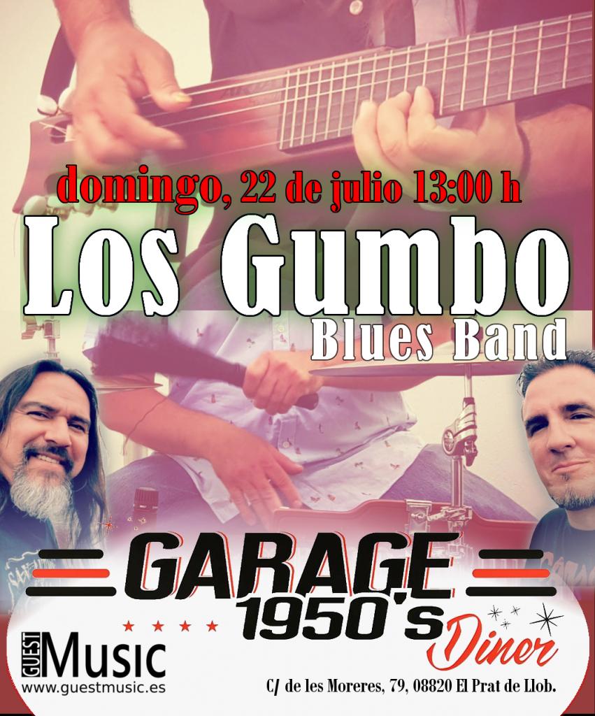 Los Gumbo - Garage 1950s Diner - Guest Music