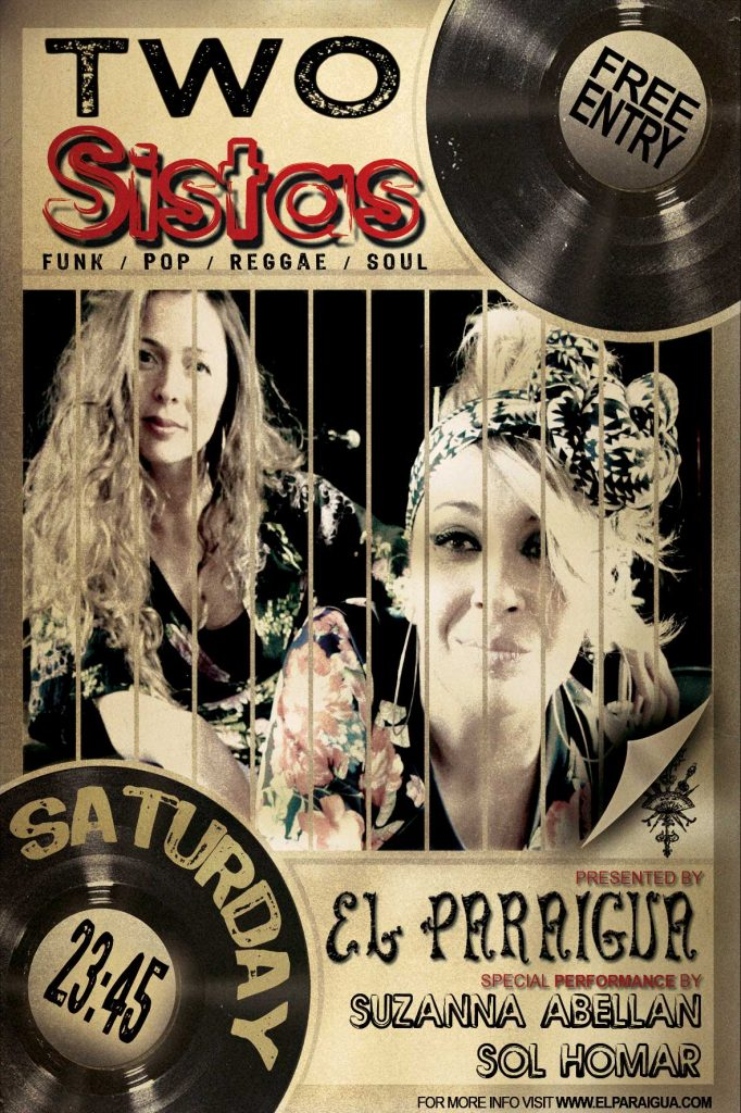 Two Sistas - El Paraigua - Guest Music