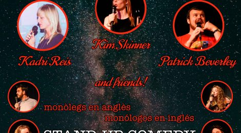 AtoMic Comedy at El Paraigua